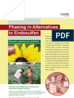 Phasing in Alternatives to Endosulfan