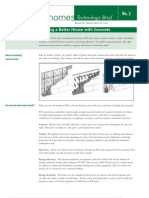 Concrete Homes Brief Better House