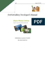 DotNet GAllery Framework
