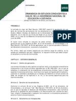 Normas de Permanencia Uned-11!07!11