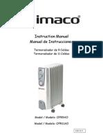 Manual User Imaco Radiador