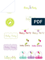 Logo Baby Party