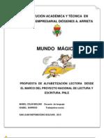 MUNDO MAGICO PNLE-1- IEDiógenes Arrieta 2013