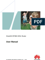 SmartAX MT880 ADSL Router User Manual