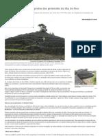 AÇORES Arqueólogos revelam segredos das pirâmides da ilha do Pico - Expresso