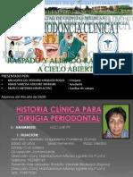 Curetaje a Cielo Abierto 2013