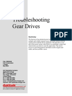 Troubleshooting Gear Drives