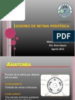 DEGENERACIONES RETINIANAS PERIFERICAS 2012