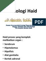 Fisiologi Haid Fk