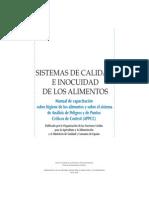 Sistemas de Calidad e Inocuidad de Los Alimentos-Man FAO