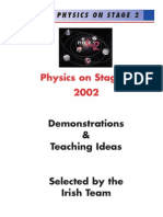 Physics Demo Booklet