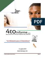 4to Informe sobre Políticas Públicas de Juventud