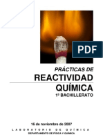 reactividad quimica