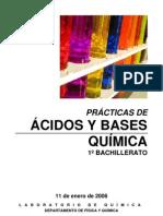 reactividad acido base