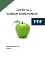 Oxidación de Una Manzana