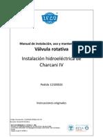 Manual Válvula rotativa  111 pdf