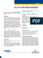 Fundamentals of Orp Measurement