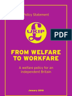 The Missing UKIP Welfare Policy