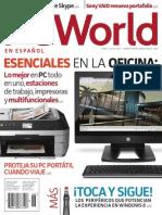 Revista PC World Junio- Julio 2013 - Esenciales en La Oficina