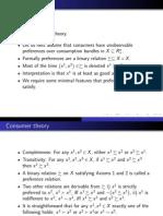 Advanced Microeconomics 2013 (Slide 2)