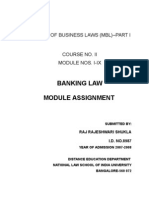 Banking Law Modules