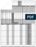4-Page RM2 Character Sheet