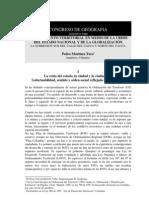 Ordenamiento Territorial y Globalizacion