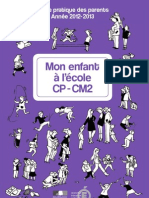 Guide Pratique Des Parents CP-CM2 227357