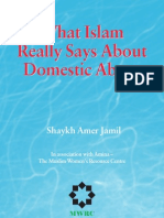 What Islam Really Says About Domestic Abuse