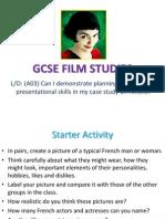 Gcse Film Studies Amelie - Lesson 1