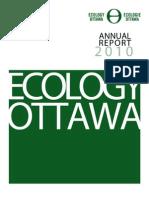 Ecology Ottawa 2010 Annual Report
