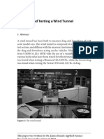 Wind Tunnel BULDING & TESTING
