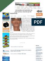 SiteBarra » Acusado de tentativa de homicídio em Ecoporanga é preso, mas diz que foi sequestrado