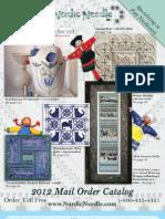 Nordic Needle 2012 Mail Order Catalog
