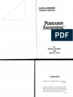 Richard Bandler and John La Valle - Persuasion Engineering