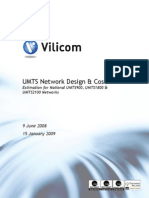 UMTS Network Design & Cost