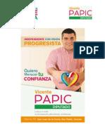 Vicente Papic Arce-Estudio Gestión Congreso Diputado Sergio Ojeda Uribe -Primer Informe