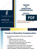 EXECUTIVE COMPENSATION Strategy Governance CMM May 18 Presentation PPT
