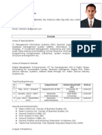 DU Page of Md. Ariful Islam