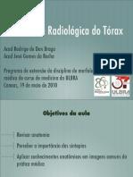 AULA RADIOLOGIA TORÁCICA