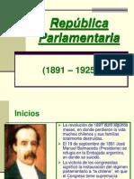 Parlamentarismo en Chile