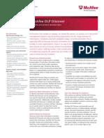 McAfee DLP Discover datasheet