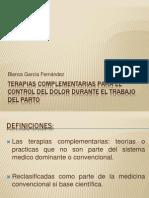 Terapias Complementarias Para El Control Del Dolor Durante