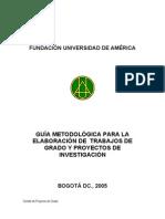 Guia Metodologica Opcion de Grado PREGRADO