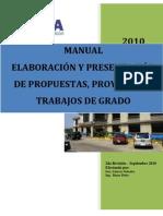 Manual Elboracion Presentacion Prop Proy Trab Grado 2010 (4)