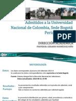 Admitidos-Bogotá - 2013-03