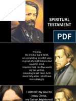 Ozanam Testament