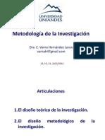 meotdologia investigación