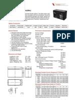 Vision Cp1270 (12v-7ah)
