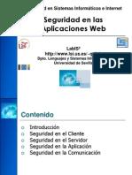 Seguridad en Las Aplicaciones Web